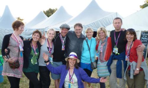 Glastonbury Team - John Peel, Dance Village and BBC Introducing